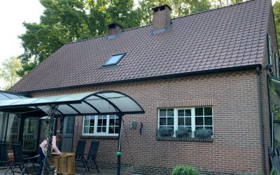 Renovatie hellend dak in Bonheiden