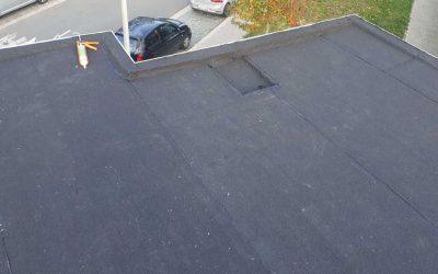 Vernieuwd plat dak in Antwerpen