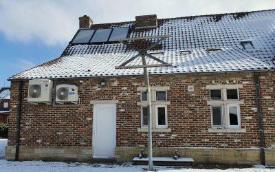 Zonneboiler geplaatst in Steenokkerzeel