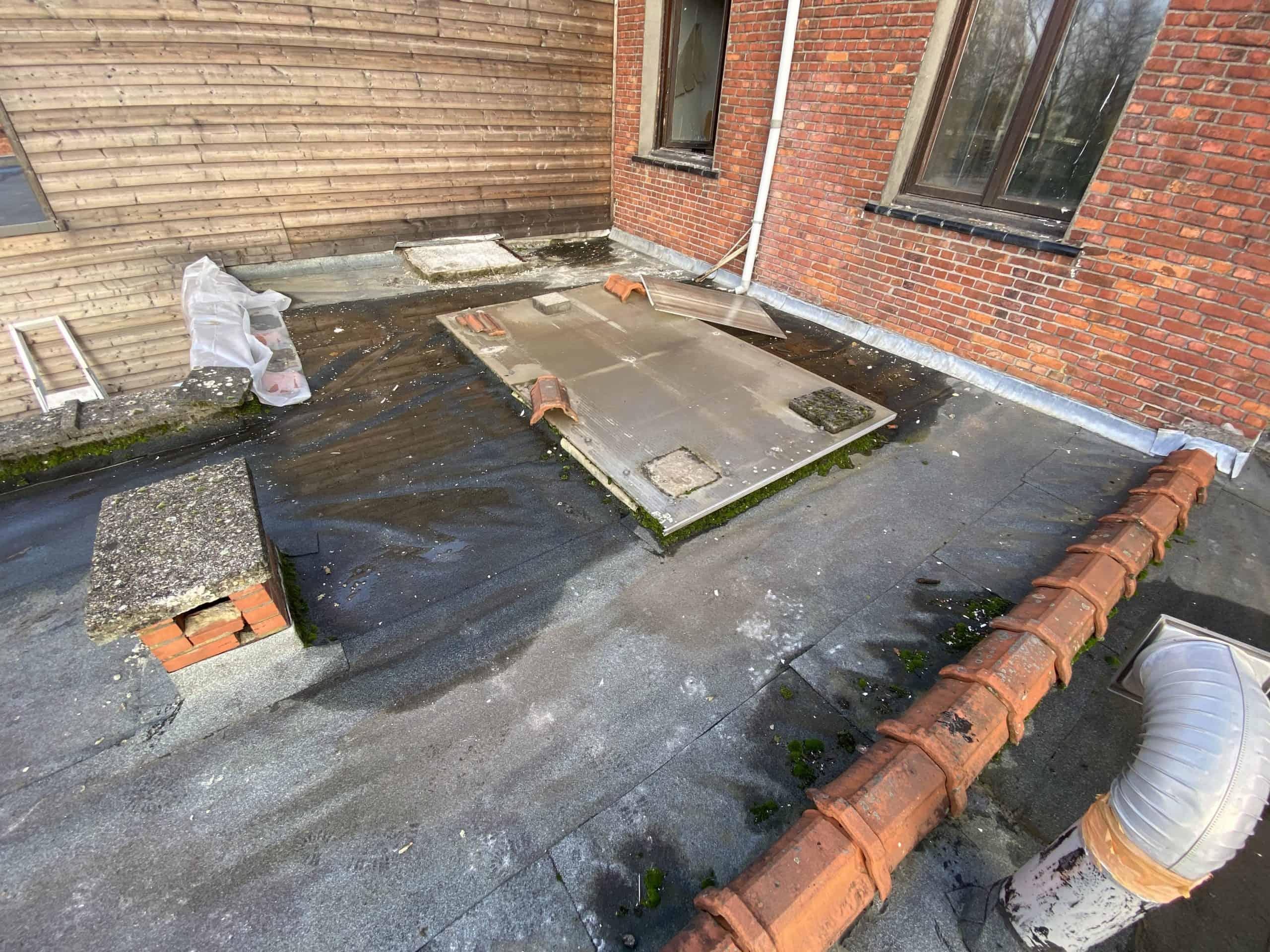 Ekeren plat dak voor