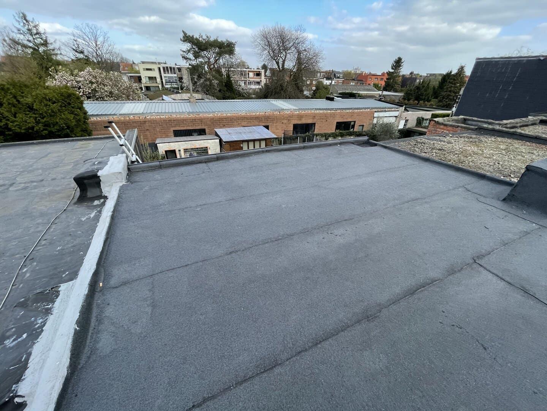 Gerenoveerd plat dak in Wilrijk