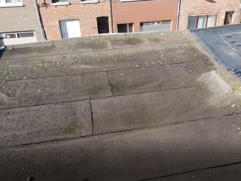 Te renoveren plat dak in Wilrijk
