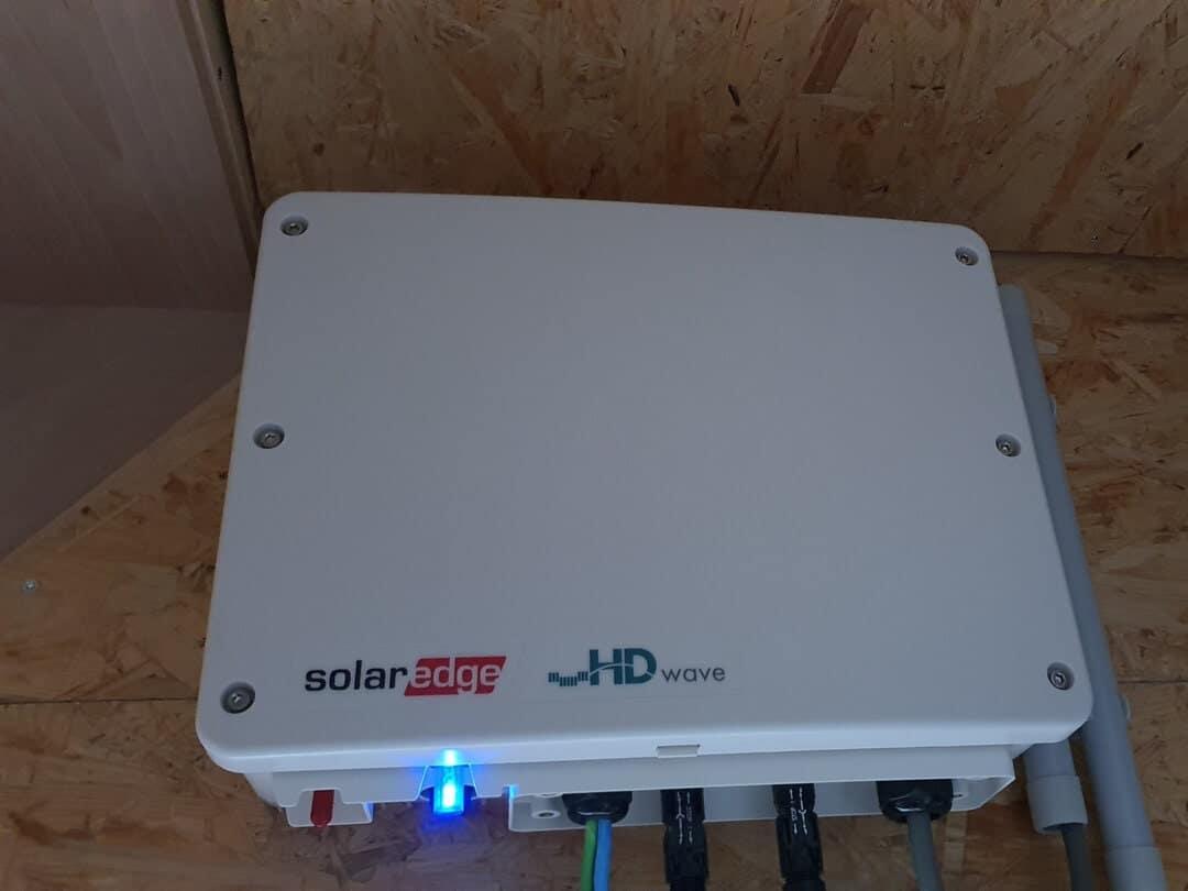 Foto 4 van dak na installatie zonnepanelen Lokeren