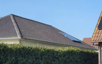 Zonneboiler in Herenthout