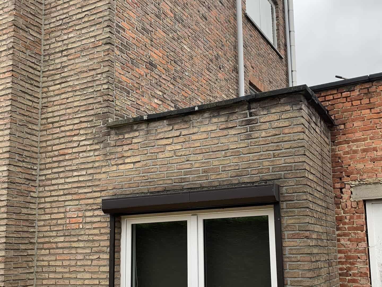 Plat dak in Niel voor renovatie