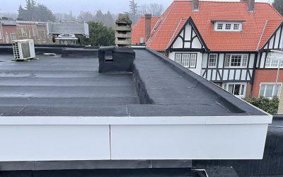 Renovatie plat dak in Wilrijk