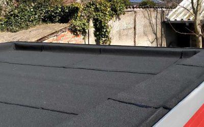 Renovatie plat dak in Bouwel