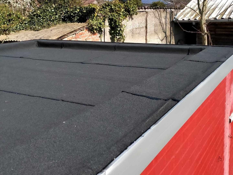 Gerenoveerd plat dak in Grobbendonk