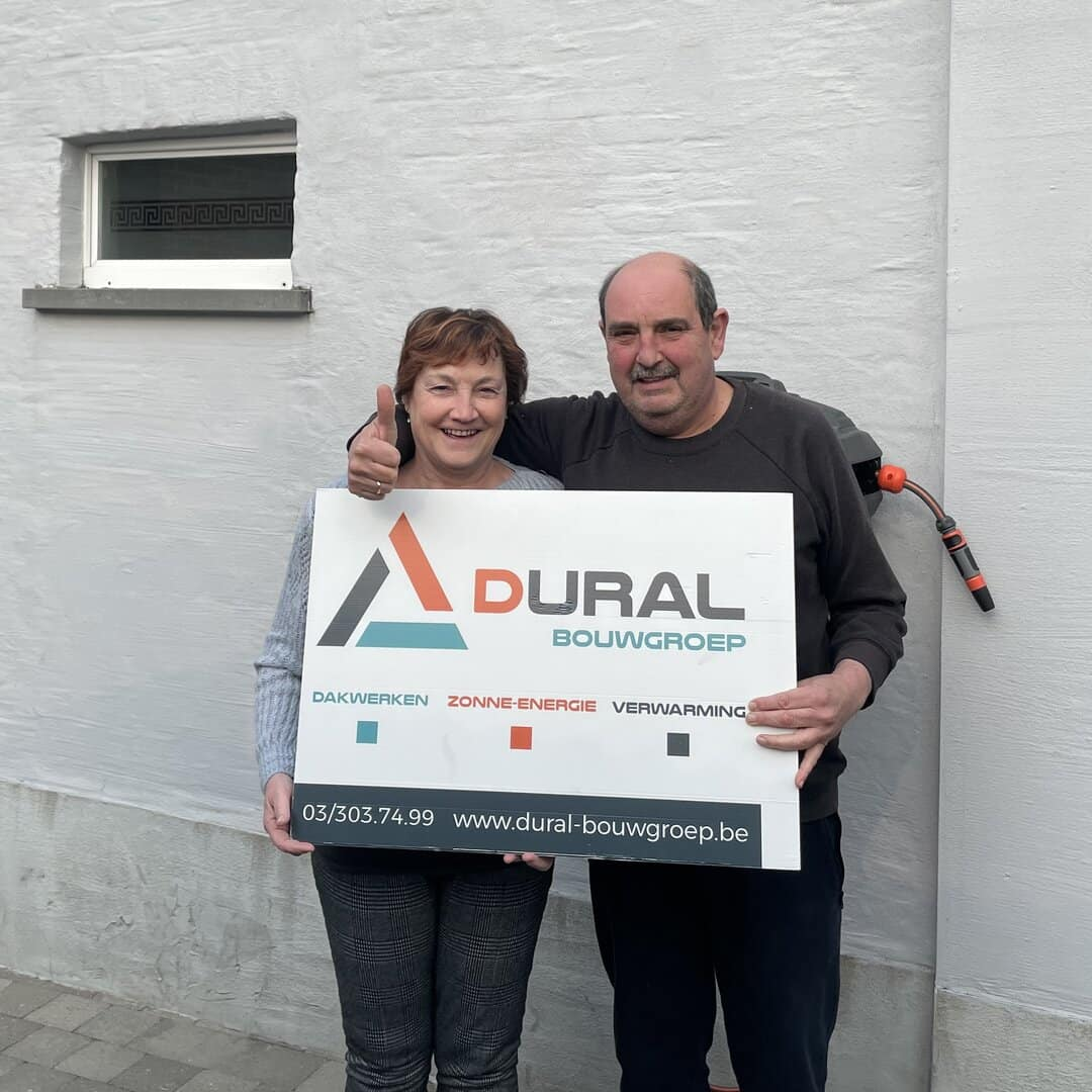 Tevreden klanten Dural Bouwgroep uit Willebroek
