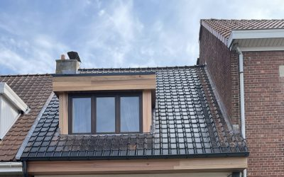 Renovatie hellend dak in Wijnegem