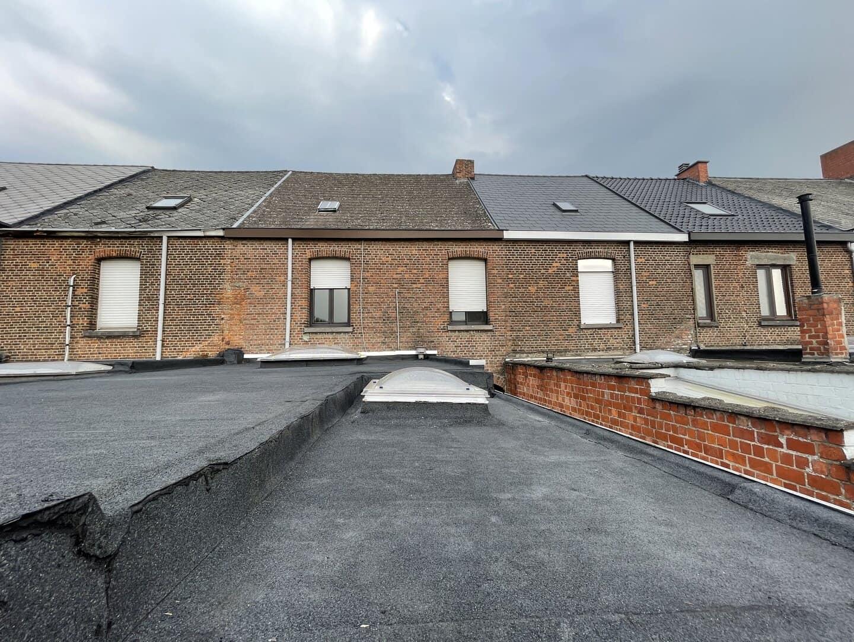 Gerenoveerd plat dak in Willebroek