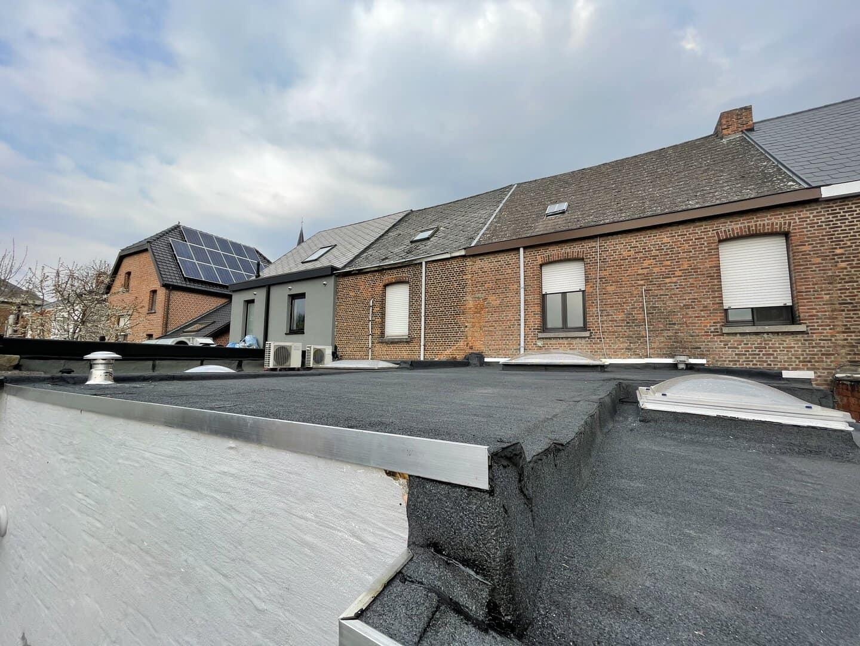 Renovatie plat dak in Willebroek