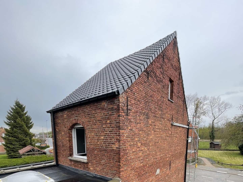 Gerenoveerd hellend dak in Boortmeerbeek