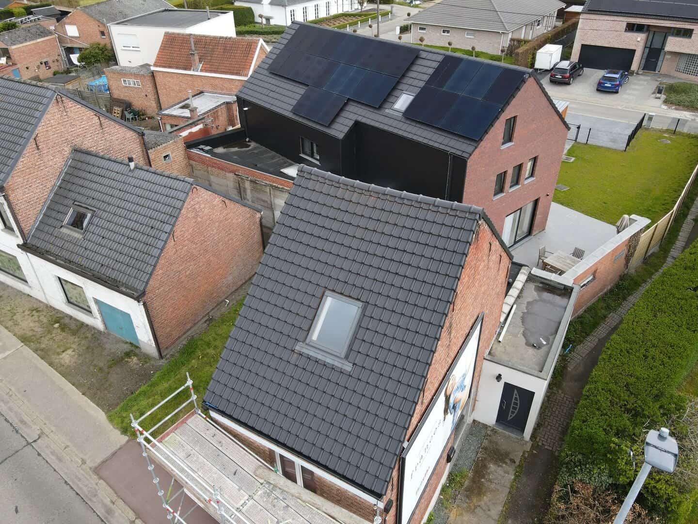 Dakrenovatie hellend dak in Boortmeerbeek