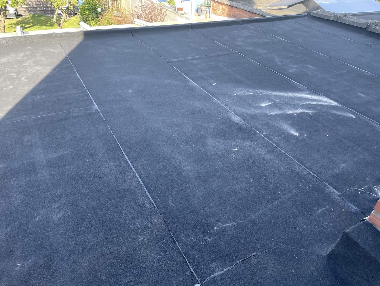 Renovatie plat dak in Rumst