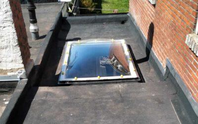 Renovatie plat dak in Turnhout