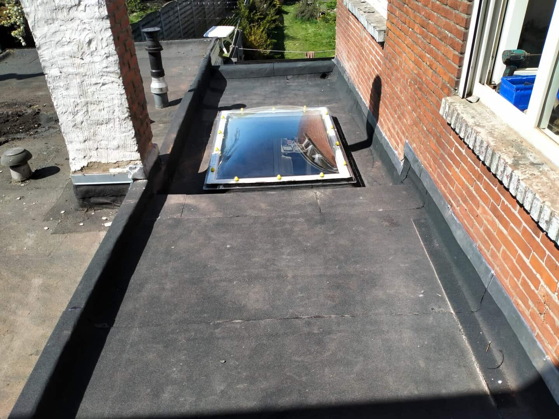 Gerenoveerd plat dak in Turnhout
