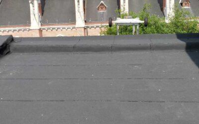 Renovatie plat dak in Antwerpen