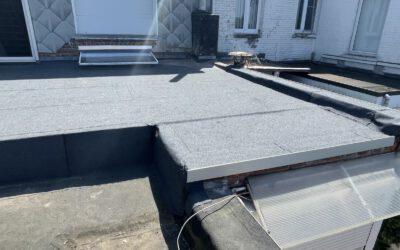 Nieuw plat dak in Zwijndrecht