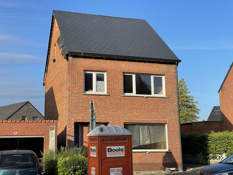 Renovatie leien dak in Hulshout