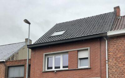 Dakrenovatie hellend dak in Londerzeel