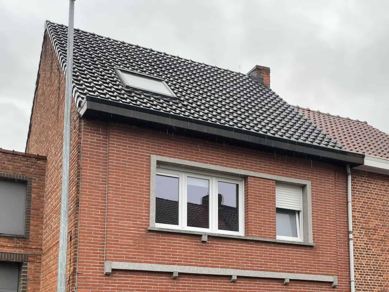 Renovatie hellend dak in Londerzeel