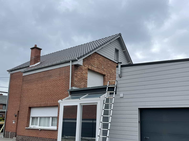 Renovatie hellend dak in Puurs