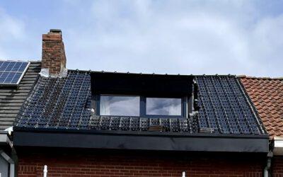 Renovatie hellend dak in Schoten