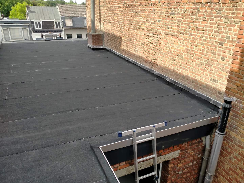 Dakrenovatie plat dak in Antwerpen