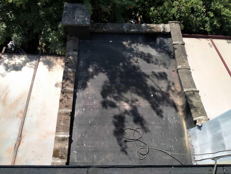 Renovatie plat dak bijbouw in Deurne