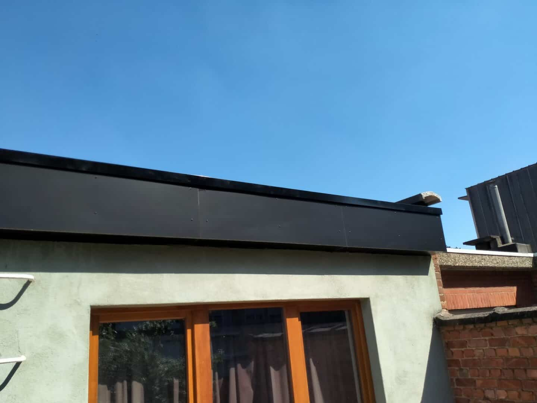 Nieuwe dakrand