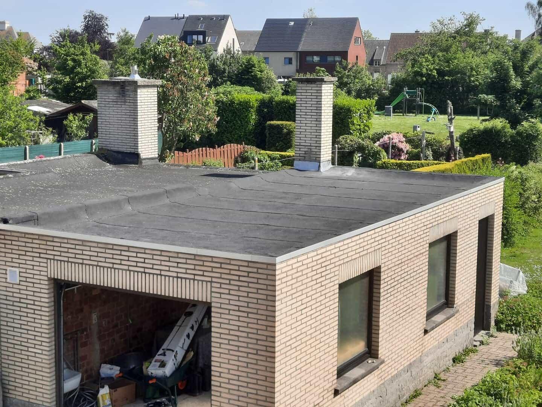 Gerenoveerd plat dak in Kapelle-op-den-Bos