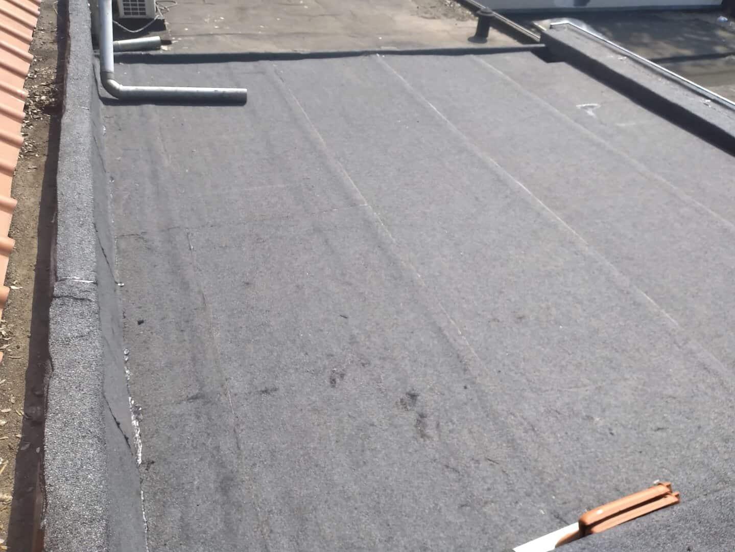 Vernieuwd plat dak in Leuven