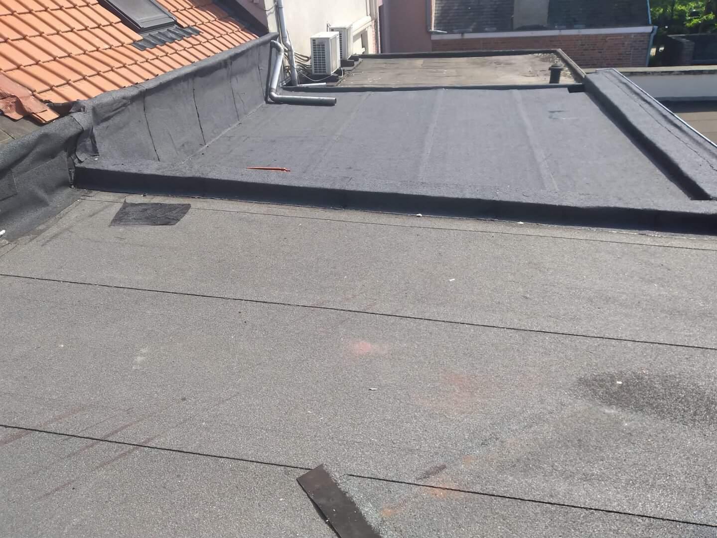 Renovatie plat dak in Leuven