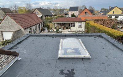 Dakrenovatie plat dak in Lille
