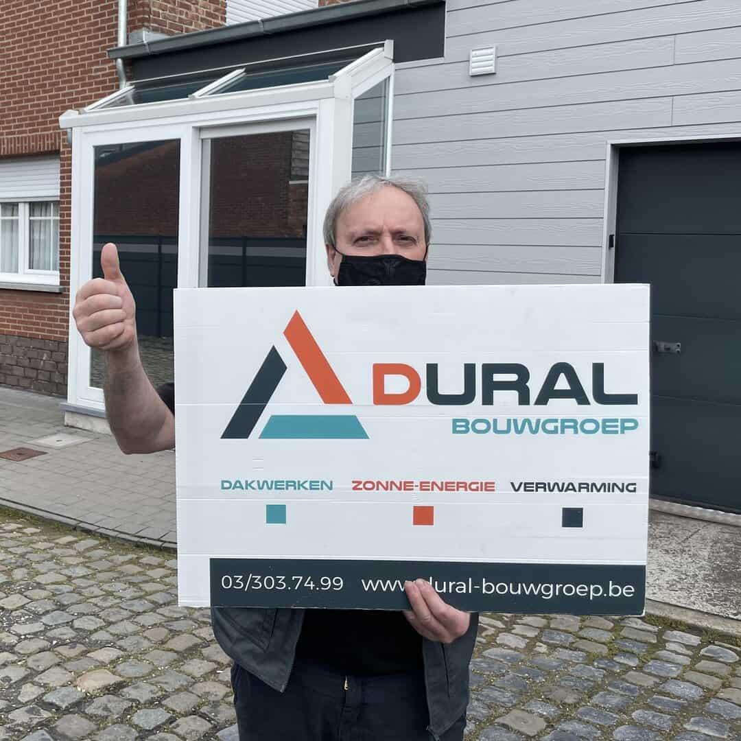 Tevreden klant Dural Bouwgroep in Puurs