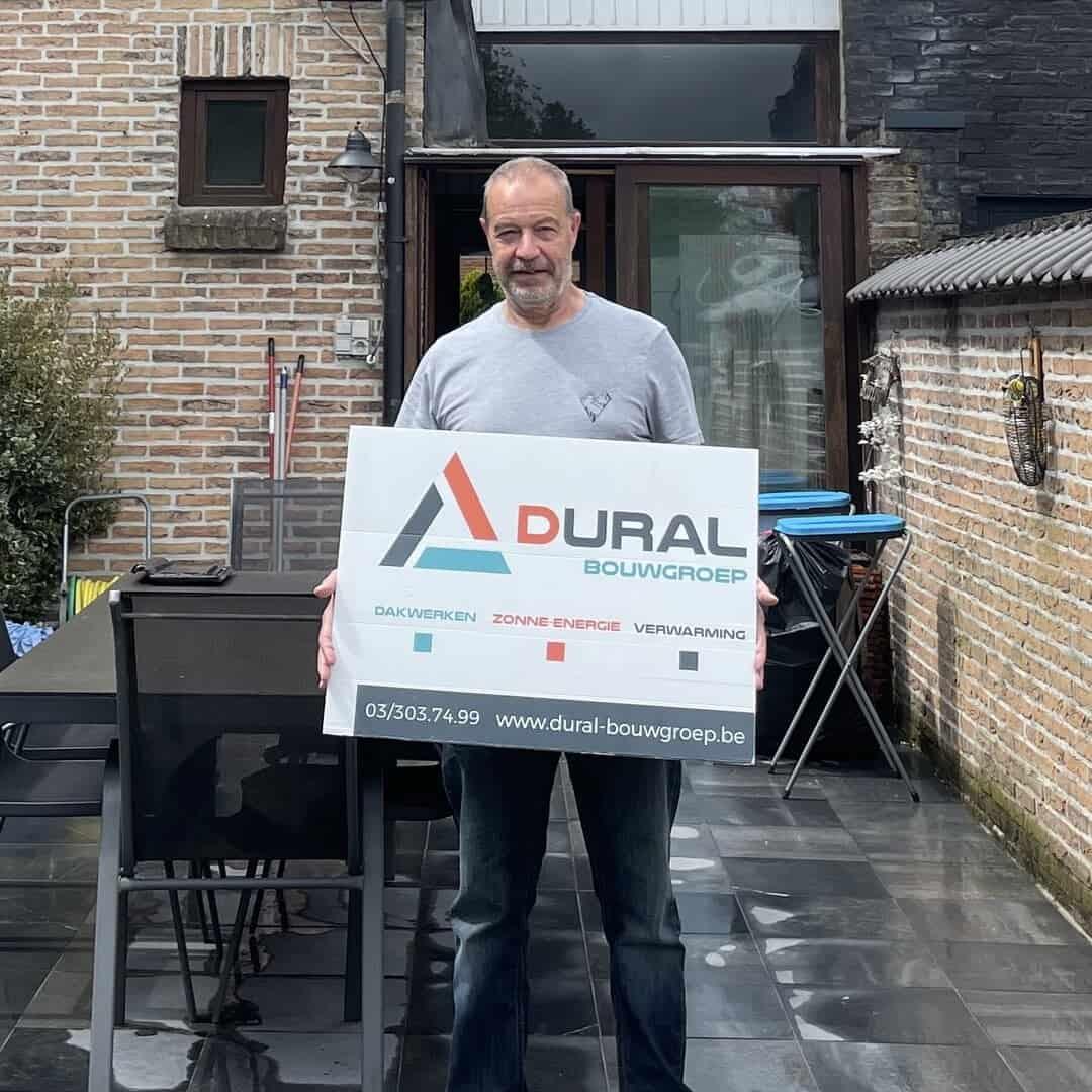 Tevreden klant Dural Bouwgroep uit Schoten