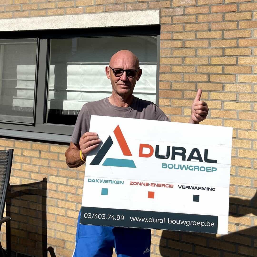 Tevreden klant Dural Bouwgroep uit Leuven