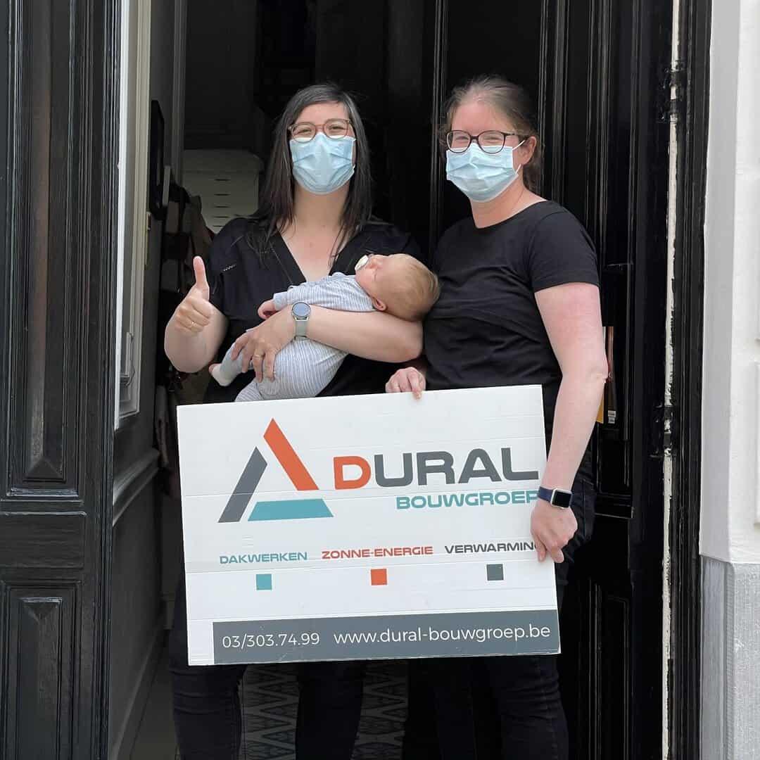 Tevreden klanten Dural Bouwgroep uit Antwerpen