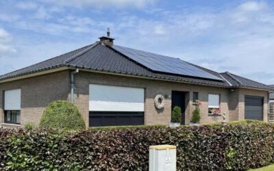 Renovatie hellend dak in Westerlo