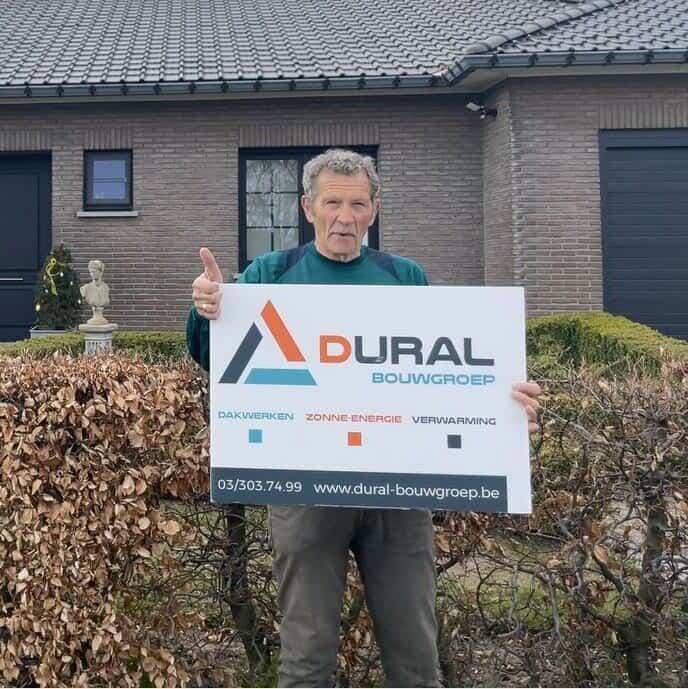 Tevreden klant Dural Bouwgroep uit Westerlo